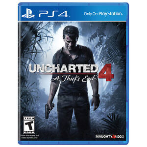 PS4 Uncharted 4 A Thief's End: BRAND NEW!