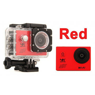 Sports Action Camera Wi-Fi Full HD 1080P 8 Includes GoPro accessory kit hero 4K