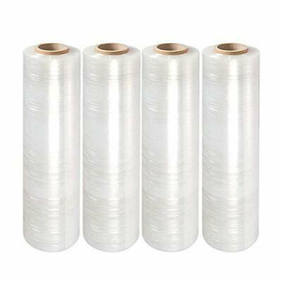 Superpackage 4 Roll Clear Stretch Film Plastic Pallet Wrap 18 X 1000 80 Gauge