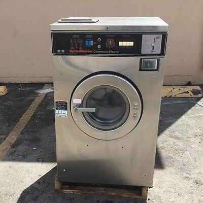 Speed Queen Washer 18lb 3ph Laundromat Coin Commercial Laundry Huebschdexter