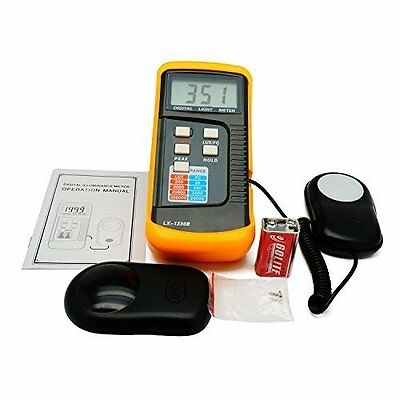 Digital Light Meter 0 - 200000 Lux Tester Fc Photo Camera Luxmeter 4 Range Lux