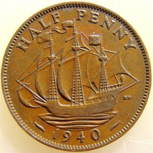 1940 Half Penny   eBay