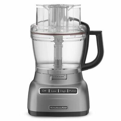 KitchenAid 13-cup Die-Cast Metal Base Food Processor, RKFP1344CS