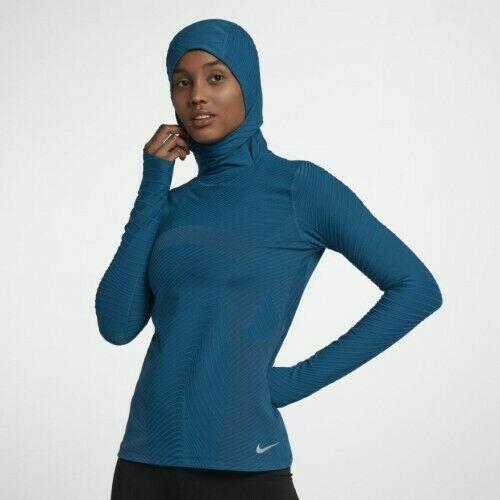 Women's Nike Element Balaclava Long Sleeve Running Top 93216