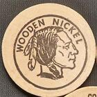Wooden Nickel Indian