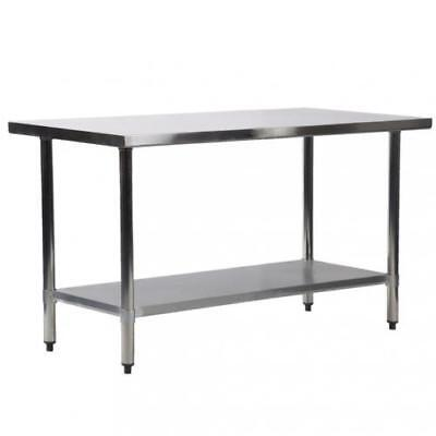 24 X 60 Stainless Steel Work Prep Table Commercial Kitchen Restaurant 24x60