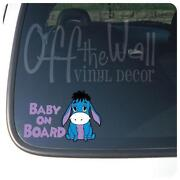 Eeyore Car Decal