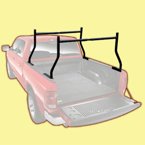 PICKUP TRUCK BED CARGO RACK ladder lumber carrier box it load haul work canoe 01