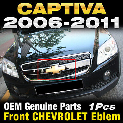 OEM Genuine Parts Front Grill CHEVROLET CROSS Emblem For CHEVY 2006-2011 Captiva