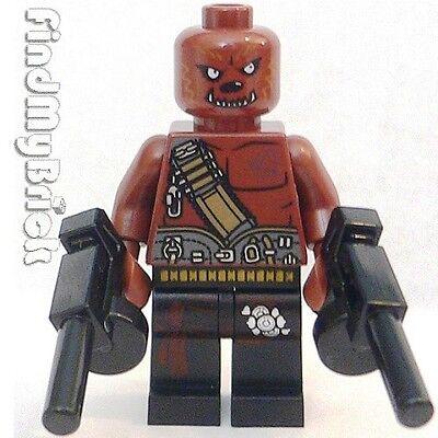 M608 Lego Halloween Zombie Custom Werewolf Beast Minifigure NEW  - Lego Custom Halloween Minifigures