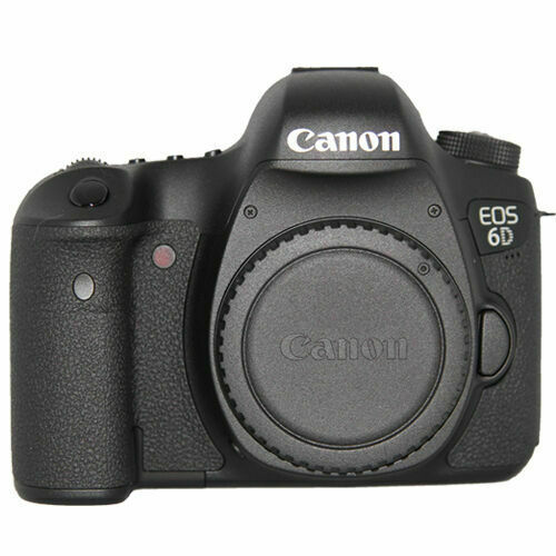 Canon EOS 6D DSLR Camera (Body Only) Black 8035B002