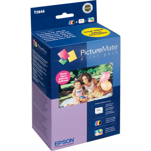 Epson T5846 Picturemate 200-series Glossy Print Pack - Ma...