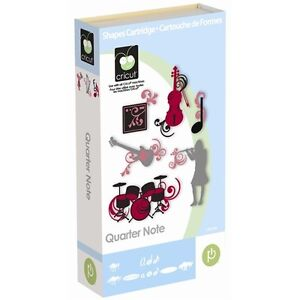 Cricut Quarter Note (music) cartridge - $45