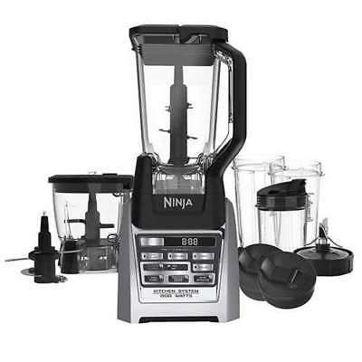 Ninja Auto-iQ Total Boost Kitchen Nutri Food Processor System w/ Cups (Open Box)