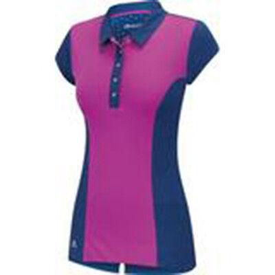 Adidas Mujer Climachill Tour Gorra Polo (S) B82528 Rosa
