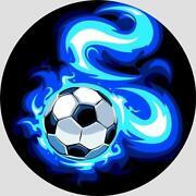 Tortenaufleger Fussball