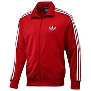 adidas Track Jacket Red