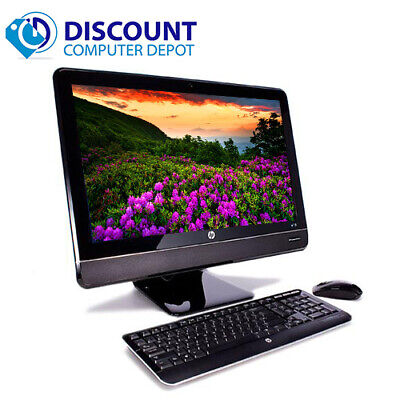 "HP 8200 23"" All-In-One LED Desktop Computer Windows 10 Pro Core i5 PC 8GB 250GB"