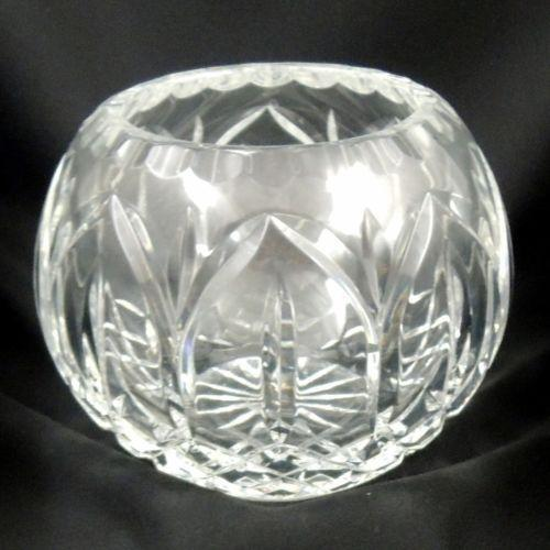 Clear Glass Rose Bowl Ebay