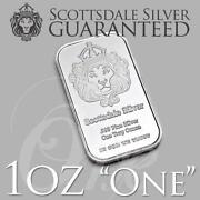 1 oz Pure Silver Bar