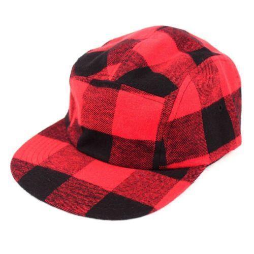 437eaf33a4b Red Plaid Hat