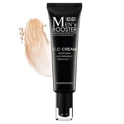 [TOSOWOONG] Men's Booster CC Cream SPF50 PA+++ 30ml /Korea (Best Spf For Men)