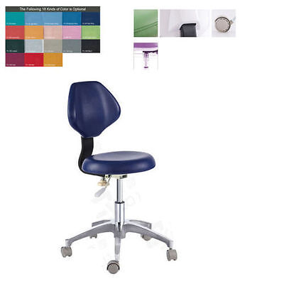 Pu Leather Medical Dental Dentists Chair Doctors Stool Adjustable Mobile Chair
