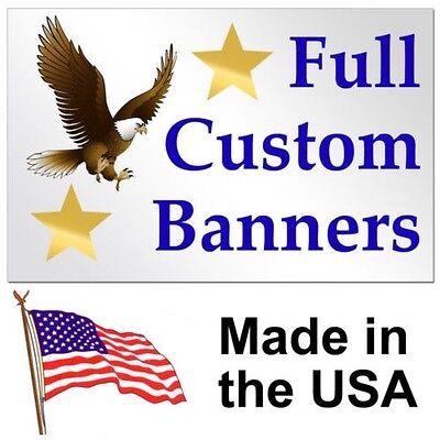 2'x 6' Full Color Custom Banner High Quality Vinyl 2x6 on Rummage