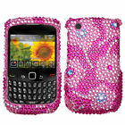 Pink Fitted Case for BlackBerry Curve 8520
