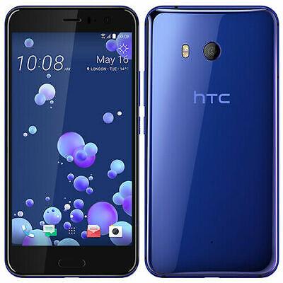 "New HTC U11 Simfree Unlocked 64GB 4GB RAM Smartphone 5.5"" Blue Colour"