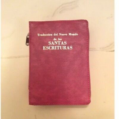 SPANISH NEW WORLD TRANSLATION BIBLE COVER, Jehovah's Witness
