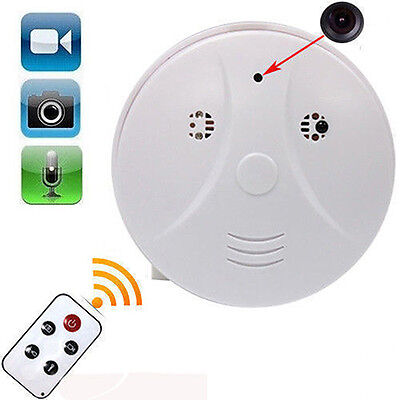 Dvr Hidden Video - Mini HD DVR SPY Hidden Camera Smoke Detector Motion Detection Video Recorder Cam