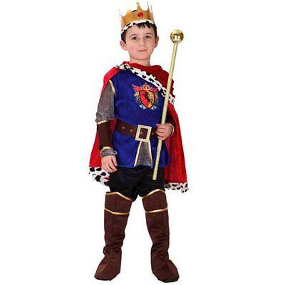 Jungen Prince Charming König Ritter Nationale Buchwoche Verkleidung 4-12 - Prince Charming Kostüm Junge