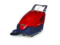 New MAC International Floormaster SW50 Pedestrian Industrial Floor Sweeper (Battery/Petrol Powered)