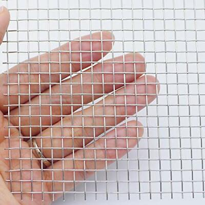 304 Stainless Steel Woven Wire Mesh1 Roll 5 Mesh - Aperture 45mm About 12quotx24
