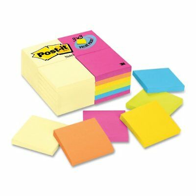 Post-it Notes Value Pack In Canary Yellow And Ultra Colors - Self-adhesive