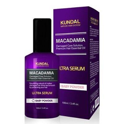 KUNDAL Hair Ultra Serum Baby Powder 100ml Nourishing Nature Moisturizer K beauty