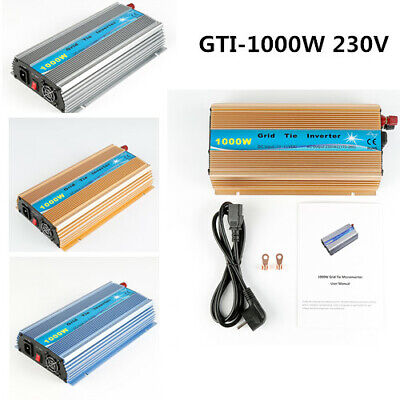 Grid Tie (1000W Solar Inverter Grid Tie DC20V~45V MPPT 24-39VDC 230VAC(170-260VAC))