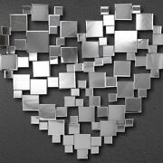 Heart Shaped Wall Mirror
