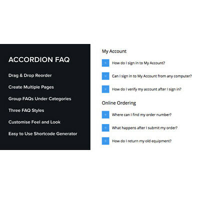 Accordion Faq Wordpress Plugin Drag Drop Faq Lastest Version