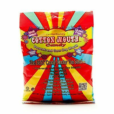 Cotton Mouth Candy Fruit Mix Bag 3.3 Ounce 97ml 3 Pack