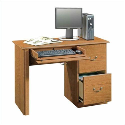 Small Desk Brilliant Small Desk  Ebay Decorating Design
