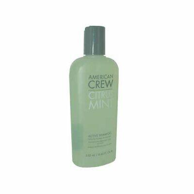 Citrus Shampoo - American Crew Citrus Mint Active Shampoo Gentle Hair Scalp Cleanser 8.45 oz
