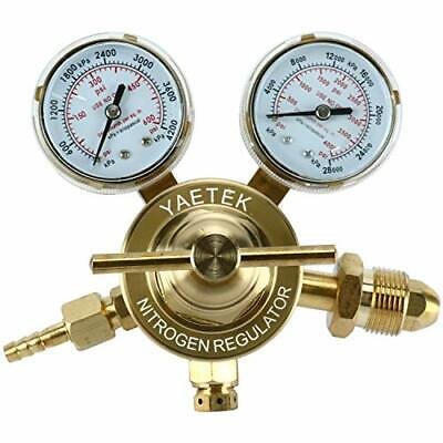 Nitrogen Regulator With 0-600 Psi Delivery Pressure Equipment Brass Inlet Cga580