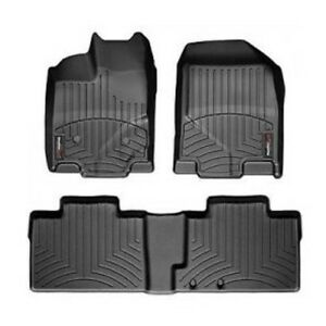 BMW X5 Weather tec winter floor mats.