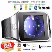 Wireless Smart Wrist Watch for Samsung iPhone Black/White//G...