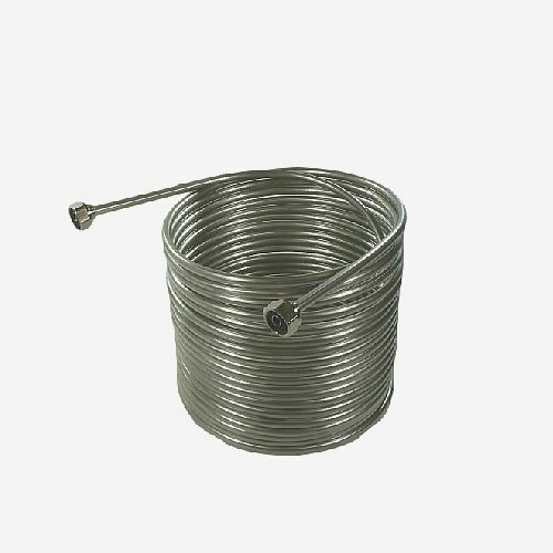 "NY Brew Supply Jockey Box Stainless Steel Coil - 3/8"" x 50"