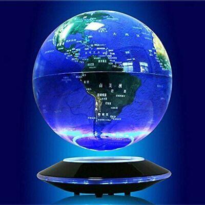 new 6 magnetic levitation floating globe anti