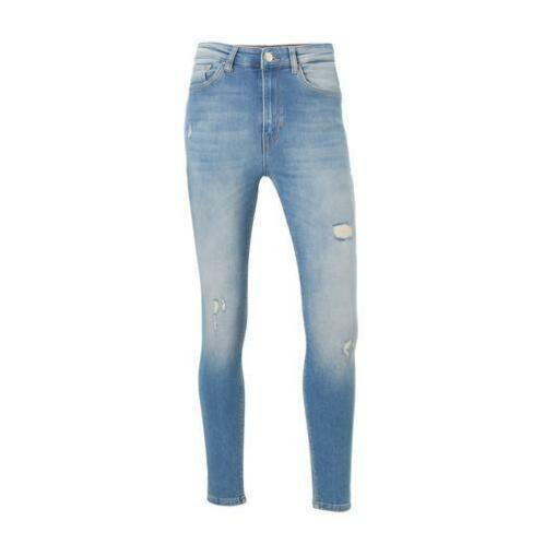 ONLY ripped skinny jeans maat 28-32