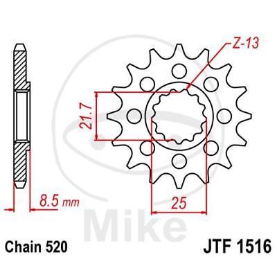 JT MOTORRAD RACING RITZEL 14 Z HNE TEILUNG 520 JTF1516 14